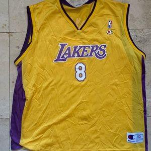 Kobe Bryant Champion Jersey